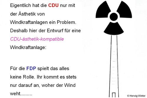 CDU-Windkraftanlage