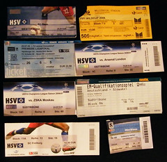 Tickets: Other ... (tsbux) Tags: cup germany munich tickets deutschland football stadium fifa soccer 2006 slovakia stadion em 2008 dsseldorf stpauli freundschaftsspiel slowakei 2007 hsv allianzarena uefachampionsleague fusball aolarena eintrittskarten friendlymatch fcthun hamburgersportverein dfbpokal tuiarena scfreiburg millerntorstadion viertelfinale tsv1860mnchen herthabscberlin uicup fcschalke04 fifiwildcup zskamoskau galatasarayistanbul hshnordbankarena premiereligapokal uefaintertotocup bayern04leverkusen fcarsenallondon europameisterschaftsqualifikationsspiel