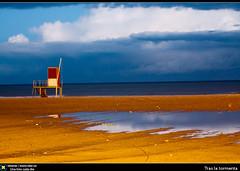 Tras la tormenta (Berts @idar) Tags: españa atardecer playa tormenta vacaciones cambrils tarragona semanasanta 70200mm espaa canoneos40d idearas