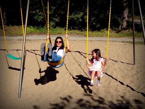 Swinging with Mama