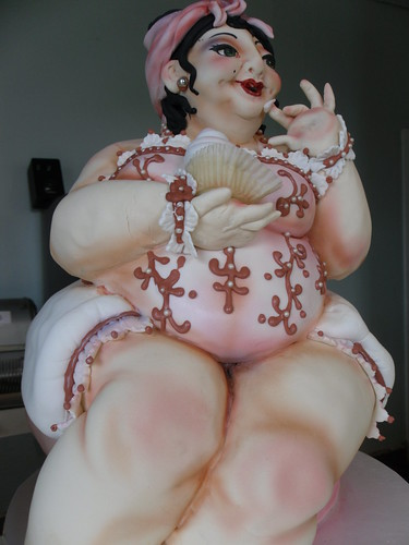 naughty fat woman cake
