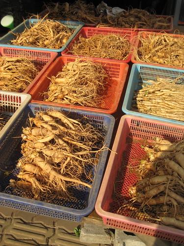 Fresh Produce Market @ Suwon - Ginseng
