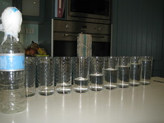 Musical water glasses
