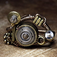 Steampunk Jewelry made by CatherinetteRings : ...