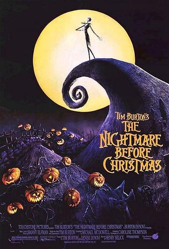 Póster de Pesadilla antes de Navidad (The nightmare before christmas)