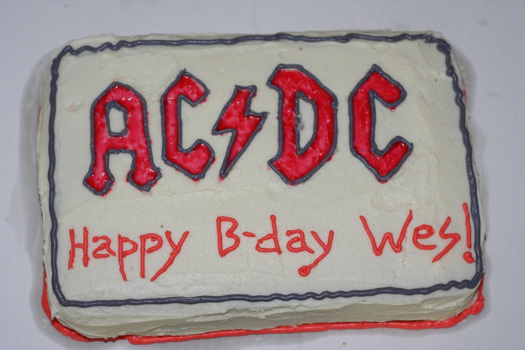 Wesley's cake