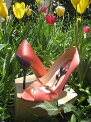 Prada Petal Heels
