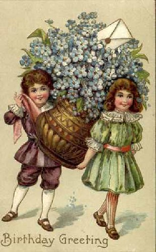 flowers n children