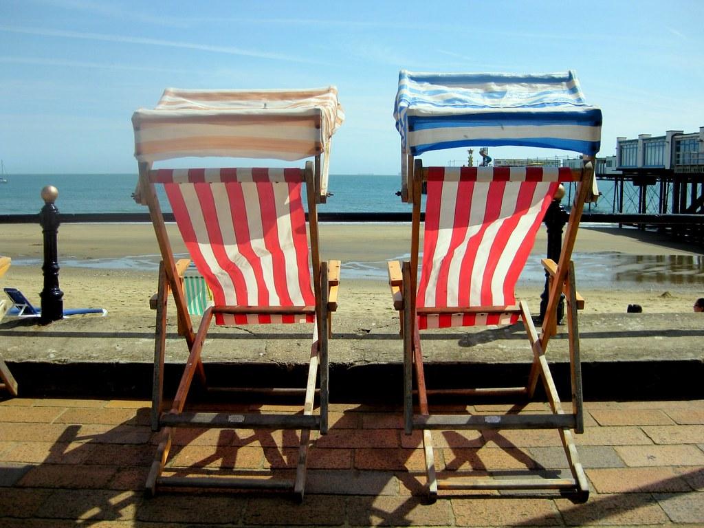 Deck chairs, Sandown