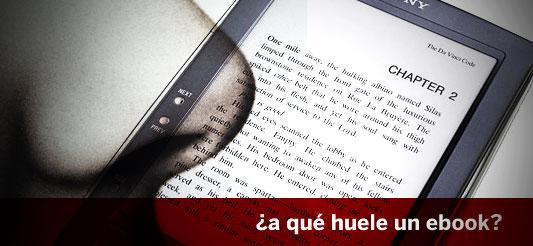 ¿A qué huele un e-book?