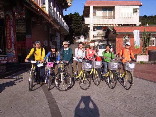 七人單車合照