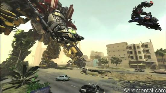 juego Transformers 2 Optimus contra Devastator