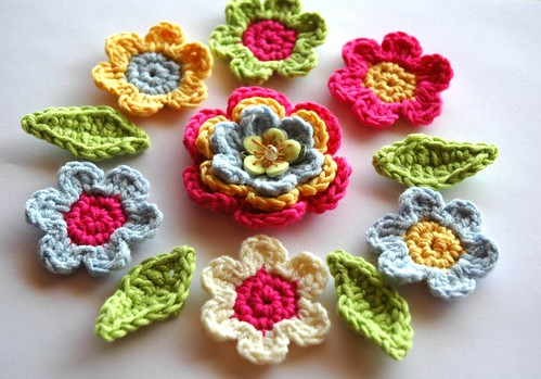 Summer Applique Flowers