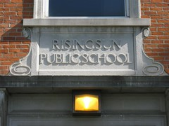 051009 Rising Sun Public School--Rising Sun, Ohio (3) (oldohioschools) Tags: county old ohio sun building rising central elementary seneca lakota