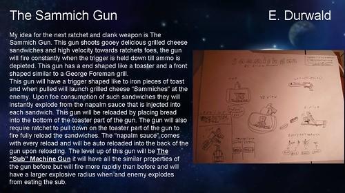 R&C Weapons Contest - Sammich Gun