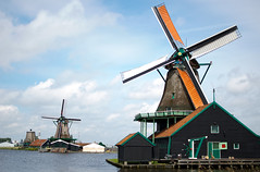 Zaanse Schans Windmills - Holland