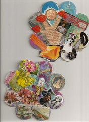 My Petal Book collage p.3-40001 (DALAIWMN) Tags: collage marilynmonroe vintageads