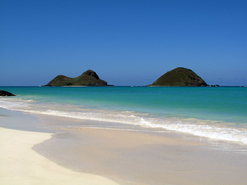 Mokulua Islands, Oahu, Hawaii
