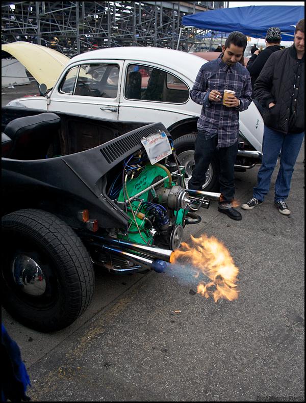 Spittin' flames