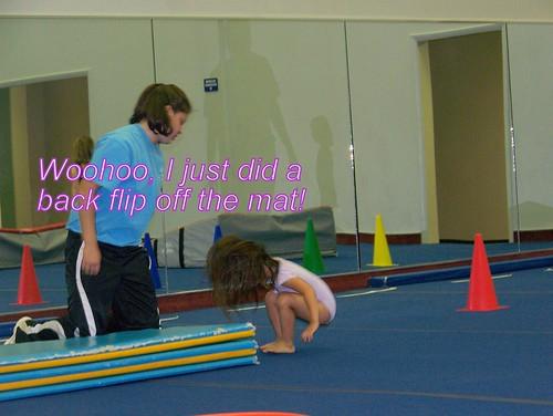 June 09 First Gymnastics Class  034