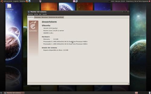 Ubuntu con el kernel para servidores