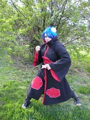 DSCN1676 (MurasakiFujiwara) Tags: cosplay young naruto inuyasha yasha inu gaiden jiraiya akatsuki konan orochimaru kikyou