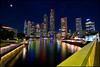 Romantic Boat Quay (Souvik_Prometure) Tags: marina singapore chinatown district central business punggol harbourfront cbd merlion boatquay rafflesplace raffles centralbusinessdistrict toapayoh marinabay sigma1020mm merlionpark flickrsbest nikond80 souvikbhattacharya