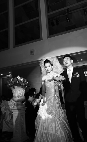 RK wedding 新人進場