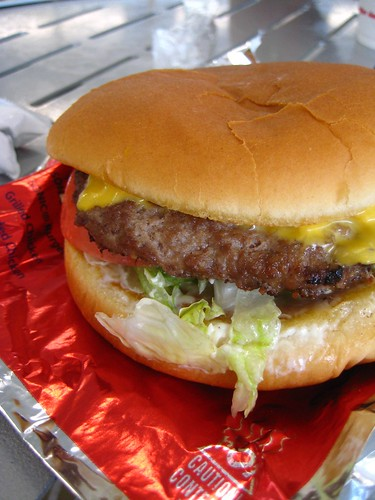Mmm, burger