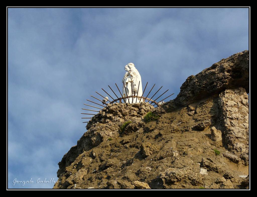 Atardecer en Le Rocher de la Vierge (Biarritz)