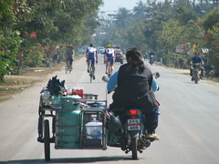 Busy (Crouching Tiger Team) Tags: trip travel vacation people holiday nature bike bicycle thailand happy cycling golden triangle cyclist tour mai chiang rai