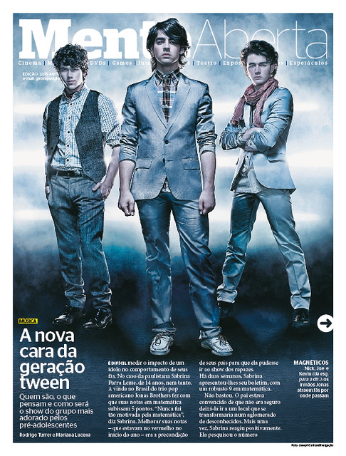 Época 574 | Mente Aberta (Jonas Brothers)