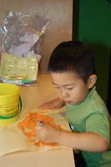 Owen doing Gyutaku