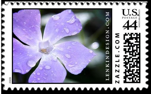 Vinca Minor stamp