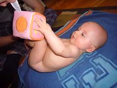 Diaper rash necessitates nakey time