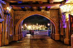 From the Castle to Mainstreet (Noodlesfur) Tags: trip travel vacation holiday paris castle castles de la disneyland au tripod disney resort belle chateau bois topaz dormant disneylandresortparis dlrp disneyphotochallengewinner 5stardisneyaward
