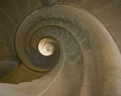 Snail Staircase (EvenShift///3) Tags: germany staircase rothenburg spiralstaircase stonestaircase