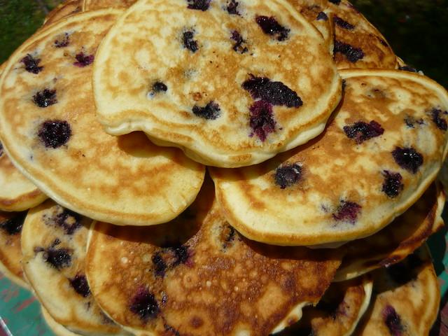 33 Blueberry Pancakes 7-30-09 009