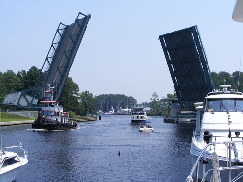 The Twin Bascule Great Bridge Bridge
