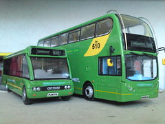 PL06TFX & WK58EAC (jeff.day48) Tags: solo adl optare code3 modelbus westerngreyhound enviro400 pl06tfx wk58eac