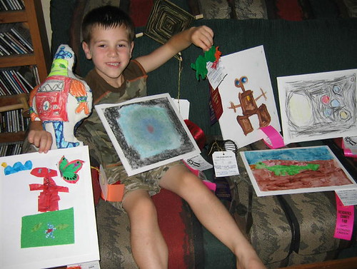 S with his Fair Entries 2009