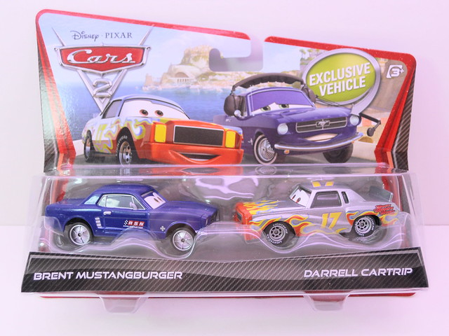 disney cars 2 movie doubles brent mustangburger darrell cartrip (1)