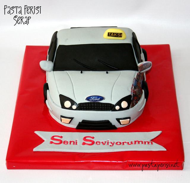 Ford Fokus cake