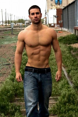 Treasure Trail Men http://dude.hatpit.com/2011/06/02/dude-35-a-super-hot-hunk-in-jeans-out-by-the-tracks/