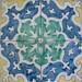 Tiles from Bacalhoa XVI Century - Azulejos Azeitao
