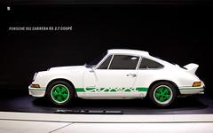 Porsche 911 Carrera 2.7 RS / 1 (Muhonion) Tags: history germany automobile europe technology stuttgart 911 nikond50 porsche 27 rs sportscar carrera porschemuseum nikkor35mm18