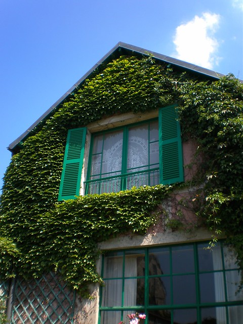 Giverny--Claude Monet's house/studio