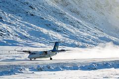 Canadian North (Jason Pineau) Tags: winter snow nu snowy north canadian arctic nunavut pang dash8 bombardier dehavilland pangnirtung dhc8 cyxp