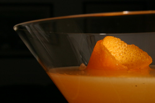 Minneola Tangelo Bronx Cocktail