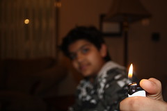 Fire ( Ali ) (AlAmmari) Tags: playing fire with ali hgf 3ali 3aloy